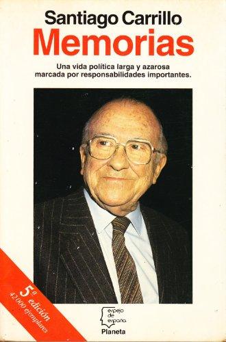 9788408010494: Memorias (Espejo de España)
