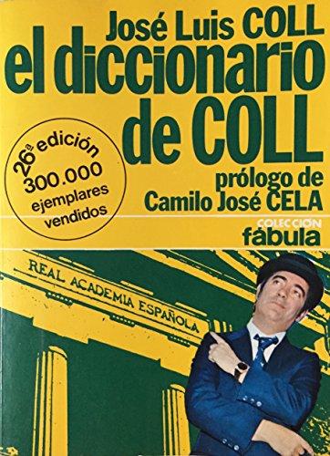 9788408012955: DICCIONARIO DE COLL,EL