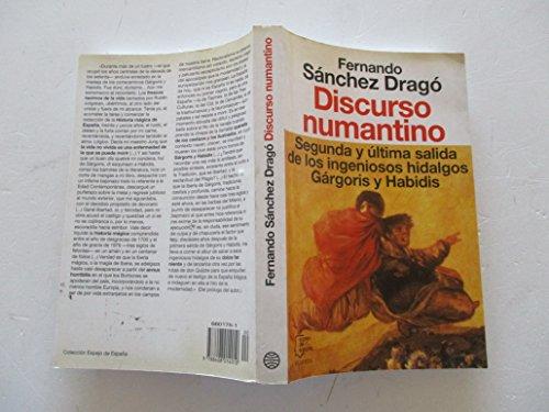 9788408014010: Discurso numantino (Espejo de España)