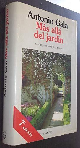 9788408014447: Más allá del jardín (Colección Autores españoles e hispanoamericanos)