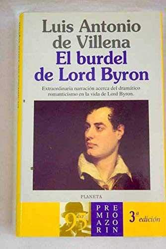 9788408014591: El burdel de Lord Byron (Colección Autores españoles e hispanoamericanos)