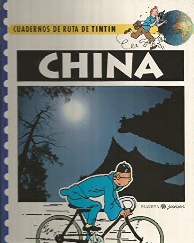 9788408015437: China cuadernos de ruta de tintin