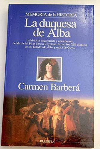 9788408015475: La duquesa de Alba