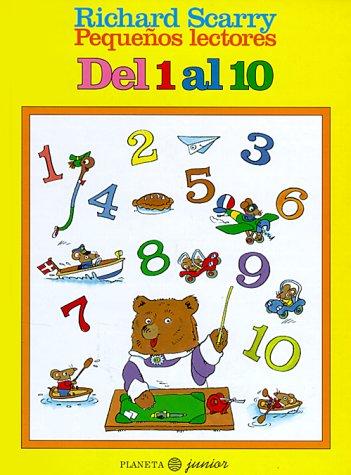 del 1 Al 10 (Pequenos Lectores) (8408016814) by Richard Scarry