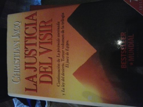 9788408016960: La Justicia del Visir (Spanish Edition)