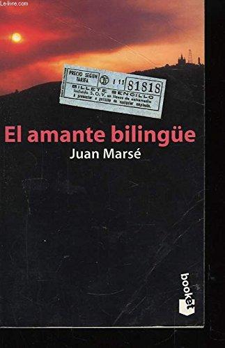9788408020035: El Amante Bilingue (Narrativa) (Spanish Edition)
