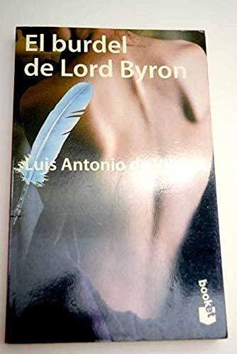 9788408022404: El burdel de lord byron (booket)