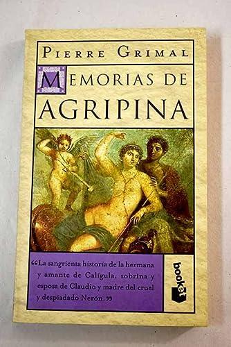 9788408026761: Memorias de agripina (booket)