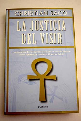 9788408026952: La justicia del visir