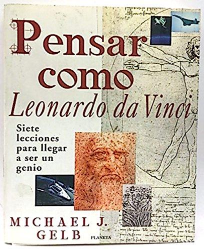 9788408028871: PENSAR COMO LEONARDO DA VINCI