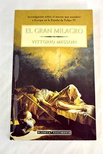 9788408032113: El gran milagro