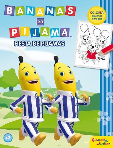 9788408034018: Fiesta de pijamas: colorea siguiendo el modelo
