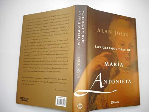 9788408035817: Los últimos días de María Antonieta