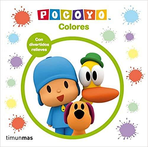 9788408036586: Pocoyó. Colores: Libro con relieve (Libros con relieve)