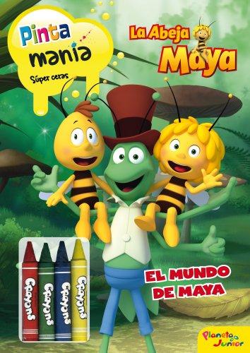 9788408037002: La Abeja Maya. Pintamanía Súper Ceras: El mundo de Maya (La Abeja Maya 3D)