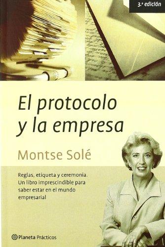 9788408038207: El protocolo y la empresa
