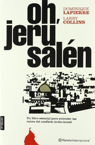 9788408051626: Oh, jerusalen/ Oh, Jerusalem (Spanish Edition)