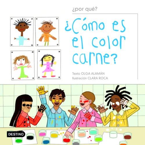 9788408051671: Como Es El Color Carne? (Spanish Edition)