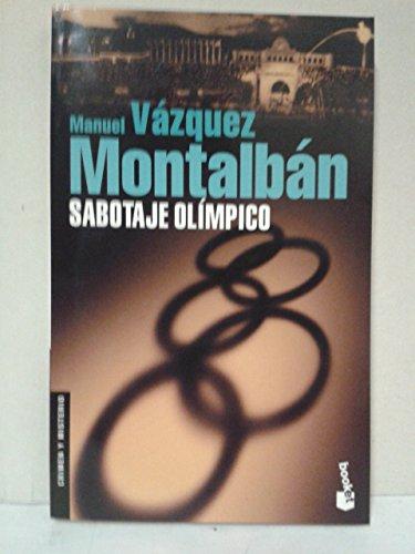 9788408056539: Sabotaje olímpico (Pepe Carvalho, #16)