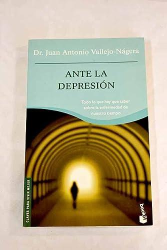 9788408058540: Ante la depresión (Booket Logista)