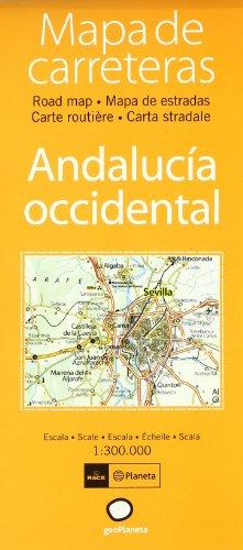 9788408060499: Mapa de carreteras de Andalucía Occidental (Atlas de carreteras)