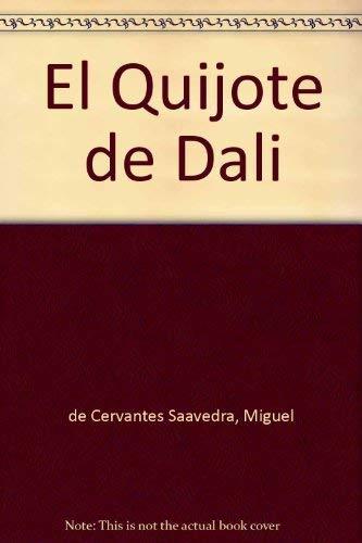 9788408061052: El Quijote de Dali (Spanish Edition)