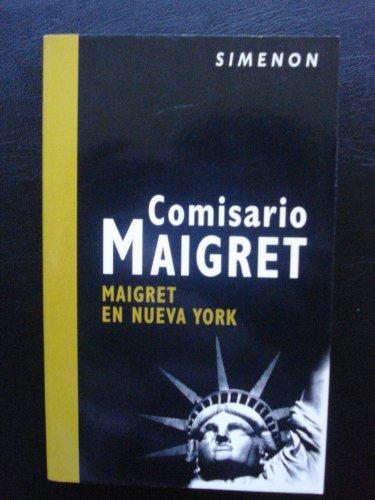 9788408062370: Maigret en Nueva York