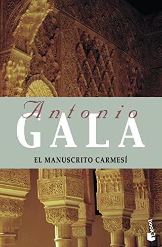 9788408065074: El manuscrito carmesí (Booket Logista
