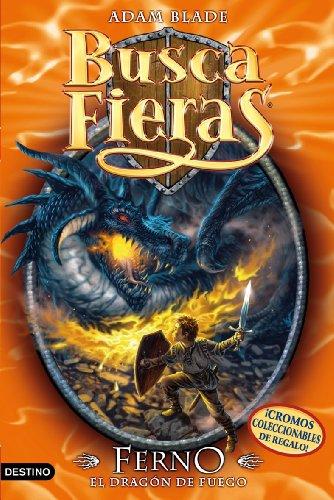 9788408077732: Buscafieras 1. Ferno, el dragon de fuego