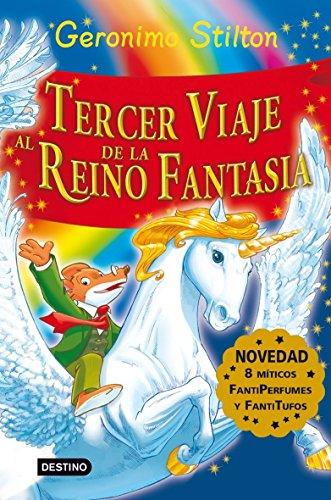 9788408081210: Stilton: tercer viaje al reino de la fantasía: ¡Libro con olores! (Geronimo Stilton)