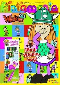 9788408084945: Wickie el Vikingo. Pintamanía Ceras: ¡Hey, Wickie, hey!
