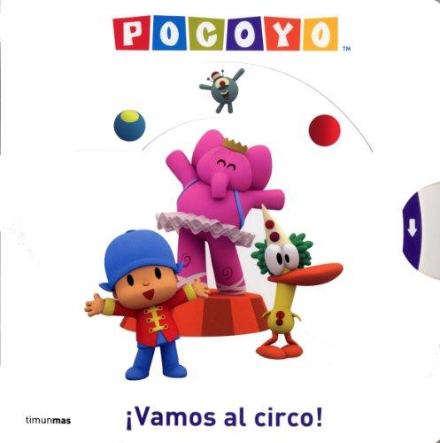 9788408088196: Pocoyó. ¡Vamos al circo!: Libro con solapas (Libros especiales)