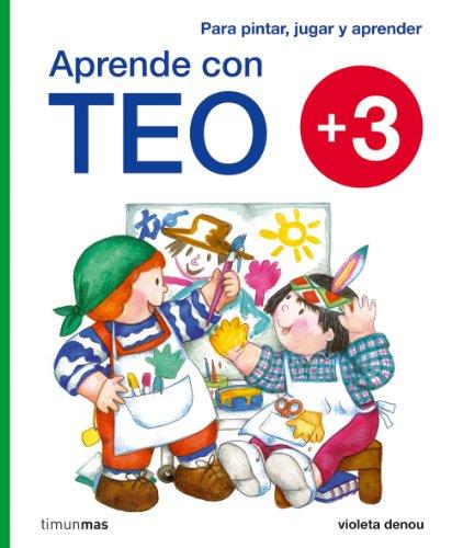 9788408092162: Aprende con Teo (+3)