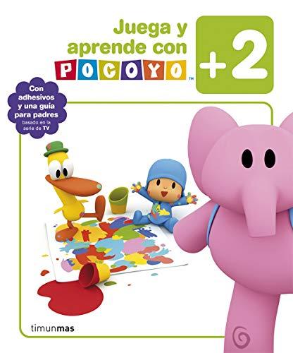 9788408092889: Juega y aprende con Pocoy� (+2): Con adhesivos y una gu�a para padres