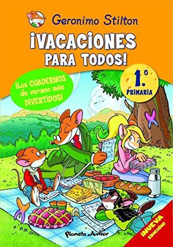 9788408093886: Stilton: ¡vacaciones para todos! (1º primaria) - 9788408093886