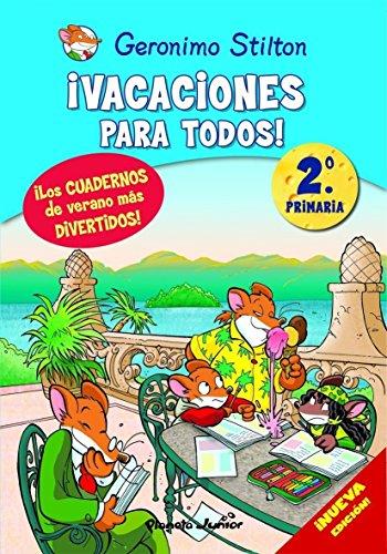 9788408093893: Geronimo Stilton. !Vacaciones para todos!2 (2º y 3º PRIMARIA)