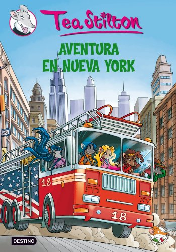 9788408094302: Stilton 6: aventura en Nueva York (Tea Stilton)