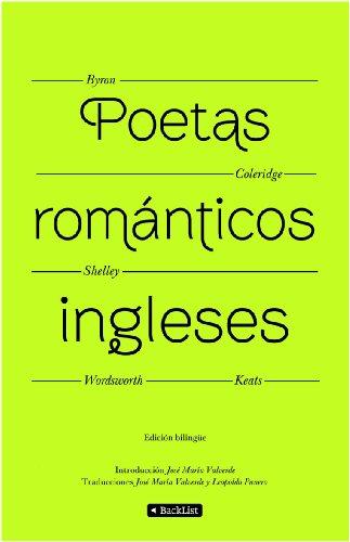 9788408094388: Poetas románticos ingleses (Edición bilingüe) (BackList Selectos)