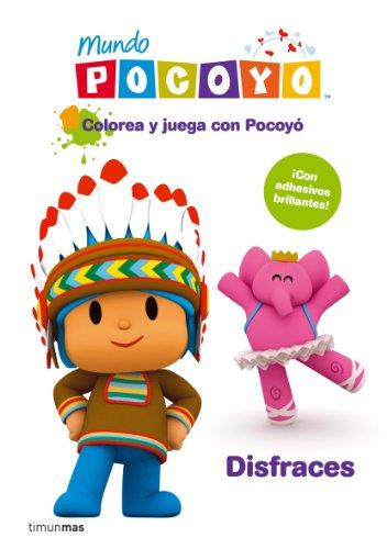 9788408099147: Colorea Y Juega Con Pocoyó. Disfraces (Cuentos y actividades)
