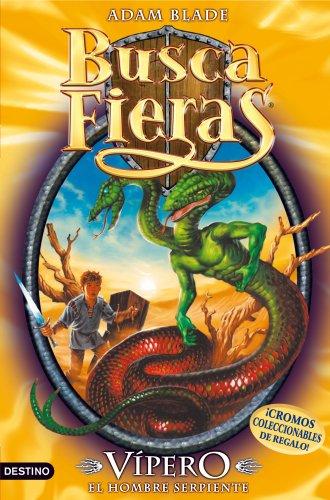 9788408100058: Vípero, el Hombre serpiente: Buscafieras 10