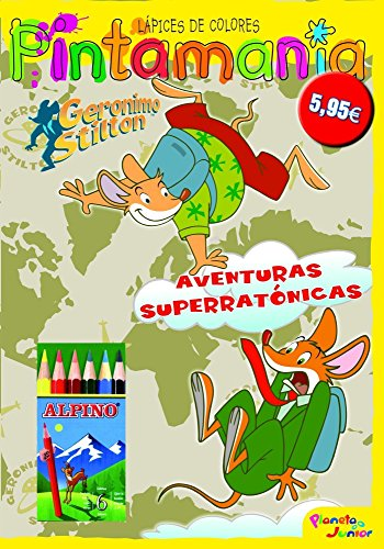 Geronimo Stilton. Pintamanía lápices de colores (9788408100881) by Geronimo Stilton