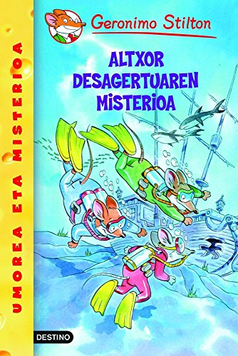 9788408102342: Altxor desagertuaren misterioa (Libros en euskera)