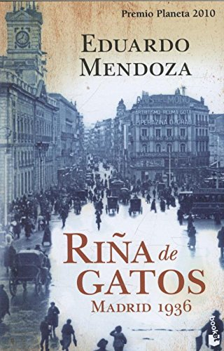 9788408105626: Rina de gatos. Madrid 1936 (Spanish Edition)