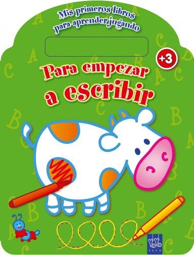9788408108788: Mis primeros libros para aprender jugando. Para empezar a escribir