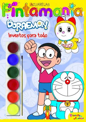 9788408109525: Doraemon. Pintaman�a Acuarelas: Inventos para todo