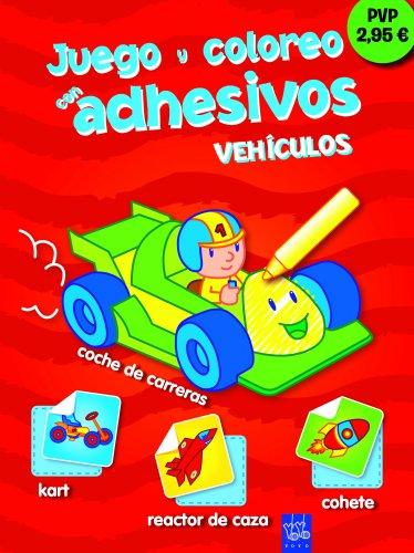 9788408111368: Vehículos: Juego y coloreo con adhesivos 8 (Juego Y Coloreo Adhesivos)