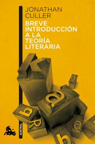 9788408113096: Breve introducción a la teoría literaria (Humanidades)