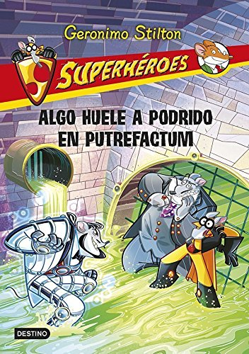 9788408118763: Algo huele a podrido en putrefactum: Superhéroes 10