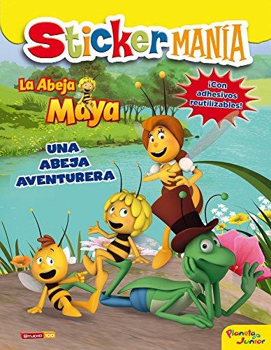 9788408124863: La Abeja Maya. Stickermanía: Una abeja aventurera (La Abeja Maya 3D)