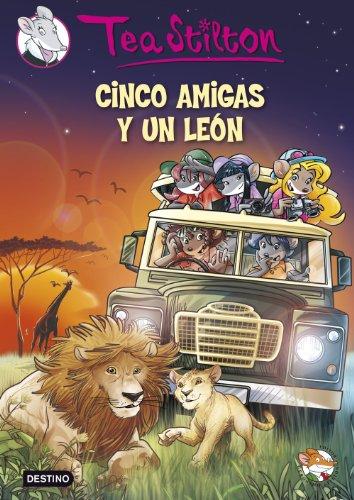 9788408127864: Cinco amigas y un león